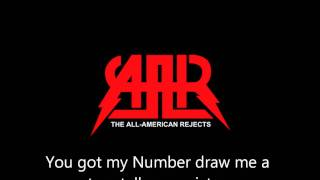 Someday's Gone - The All-American Rejects (Lyrics)