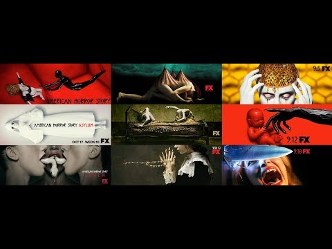 All American Horror Story Season Trailers 1-9