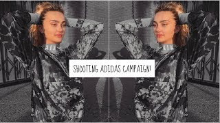 VLOG: traveling, shooting adidas campaign, and more! ♡