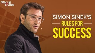 Motivational Speech By Simon Sinek | 5 Rules Of Success | Inspirational Video | Startup Stories