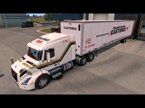 VOLVO VNR 640 | Beta 1.29 Recorriendo nuevos caminos | American Truck Simulator