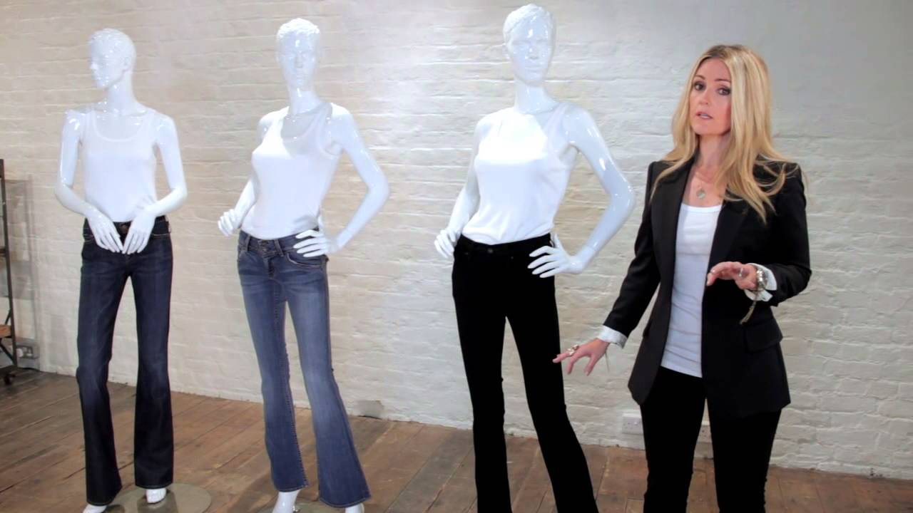 How to wear Bootcut jeans - YouTube