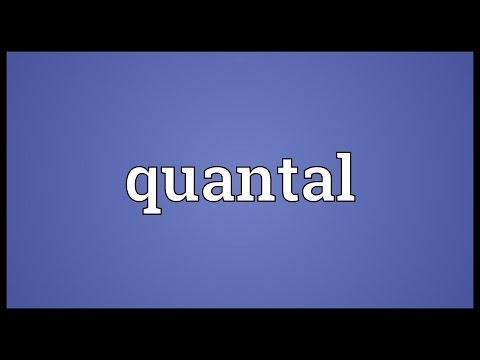 Header of quantal