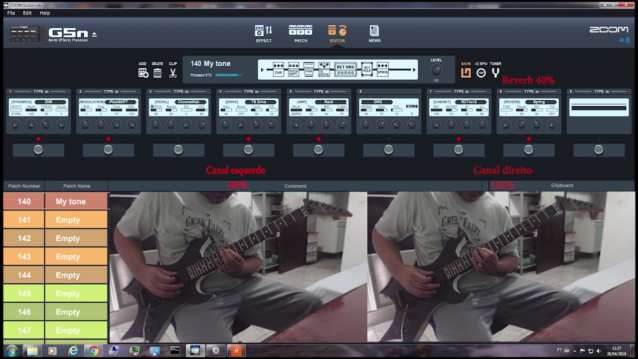 Download Zoom G5n VS Pod HD500 Battle tone 01