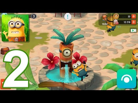 minions-paradise---gameplay-walkthrough-part-2---level-3-5,-bob-(ios,-android)