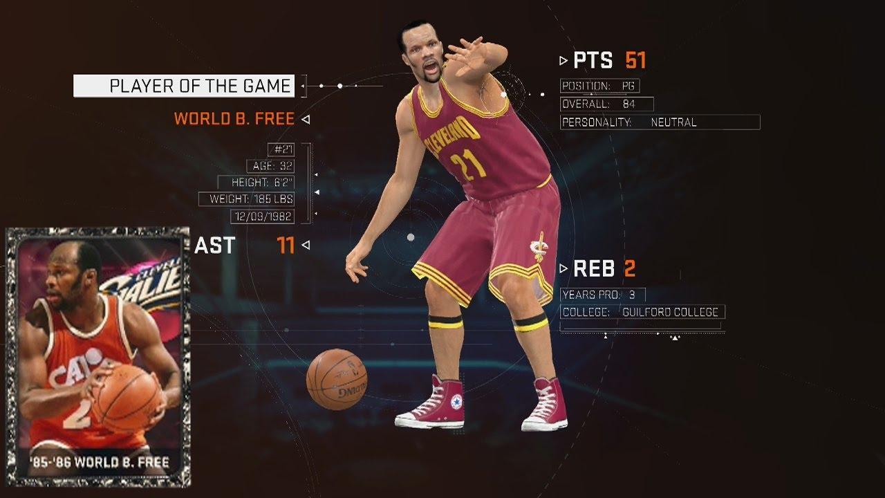 NBA 2K15 Hidden Gems For Your MyTEAM yx World B Curry