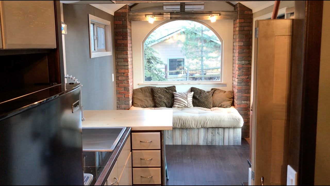 Rustic And Elegant Tiny House For Minimalist Bliss Youtube