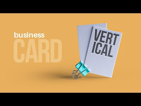 Vertical Business Cards = The BEST Business Cards?? *Explained* thumbnail