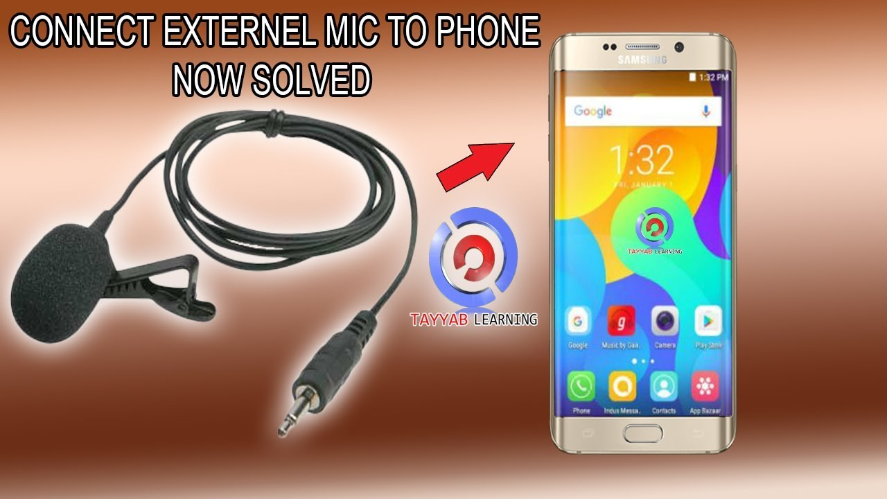 how to connect lapel mic to android phone 3 5 mm headphone jack urdu [ 1280 x 720 Pixel ]