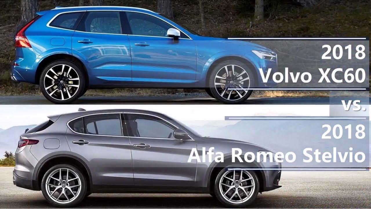 Subaru Ascent 2018 >> 2018 Volvo XC60 vs 2018 Alfa Romeo Stelvio (technical comparison) - YouTube