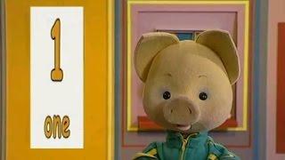 Учим английский язык вместе с Хрюшей - урок 7 - Занимательный английский для малышей