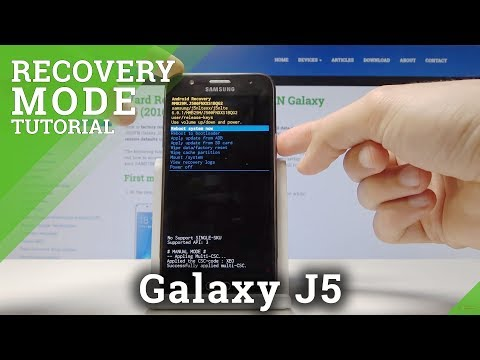 RECOVERY MODE SAMSUNG Galaxy J5 - How To Enter & Quit Recovery Menu
