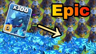 300 Max Electro Dragon VS 500 Mega Tesla | Private Server | New Update