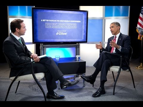 President Obama Answers Your Housing Questions with Zillow