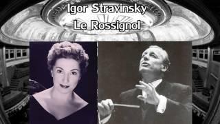 Igor Stravinsky-Le Rossignol-Act III (Andre Cluytens, Janine Michau) chant du Rossignol