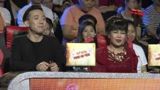 Vợ Vũ Hà khoe giọng hát trên sân khấu Thử thách người nổi tiếng