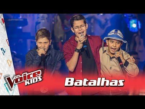 Arthur, Gustavo e Kayro  cantam 'Tristeza do Jeca' nas Batalhas – TVK Brasil | 3ª T