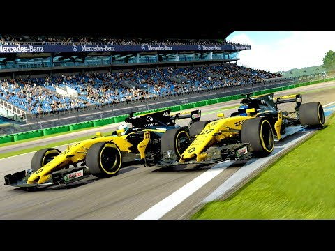 F1 2017 CARS RACE AT HOCKENHEIM! (Forza Motorsport 7 Gameplay)