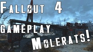 Fallout 4: Early Game Gameplay - The Cave Beneath The Red Rocket Truck Stop