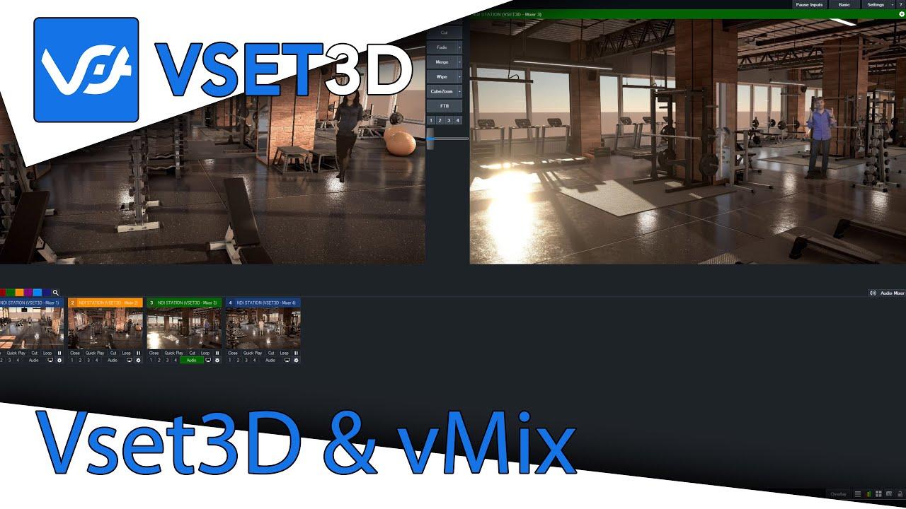 Vmix Virtual Set Template