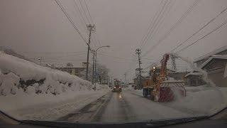 【豪雪】冬の小国街道 国道113号 デリカD:5 スタッドレス【大雪】 Mitsubishi DelicaD:5 Studless tire