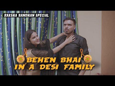 Behen Bhai In A Desi Family - Raksha Bandhan Special - Amit Bhadana thumbnail