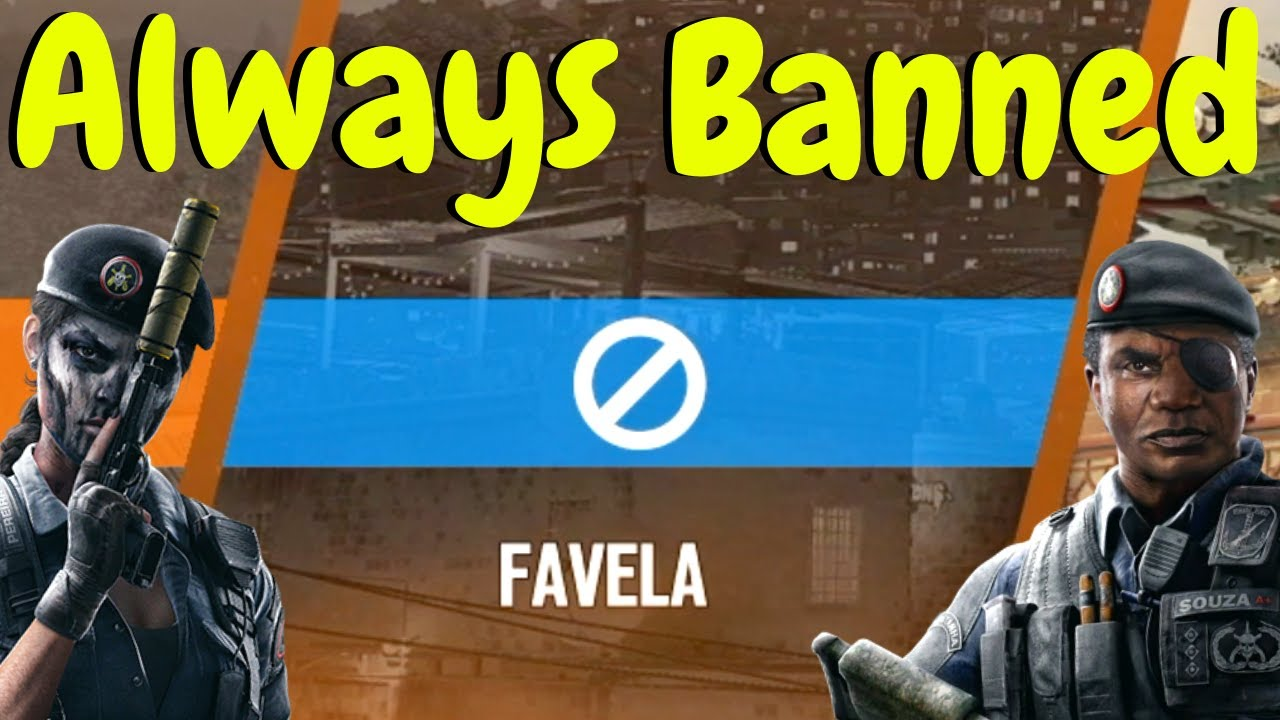 Trying to get Favela in Ranked in Rainbow Six Siege