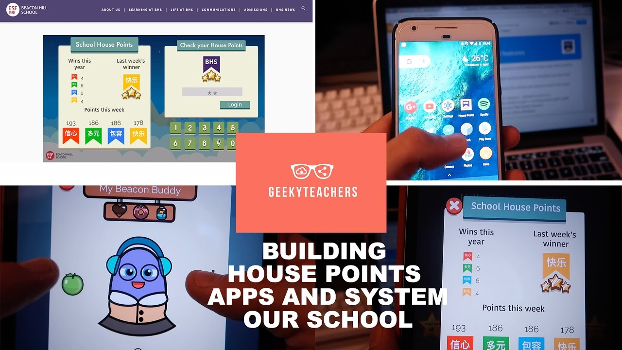 Building our own school house points apps and system youtube for Home building app