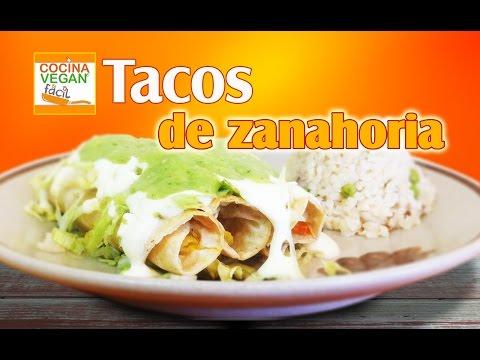 tacos-dorados-de-zanahoria---cocina-vegan-fácil
