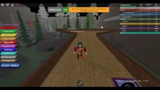 am a ninja in a dojo game coolll!roblox