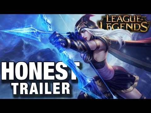 LEAGUE OF LEGENDS (Honest Game Trailers)
