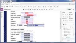 Creating fillable forms using Adobe Acrobat DC