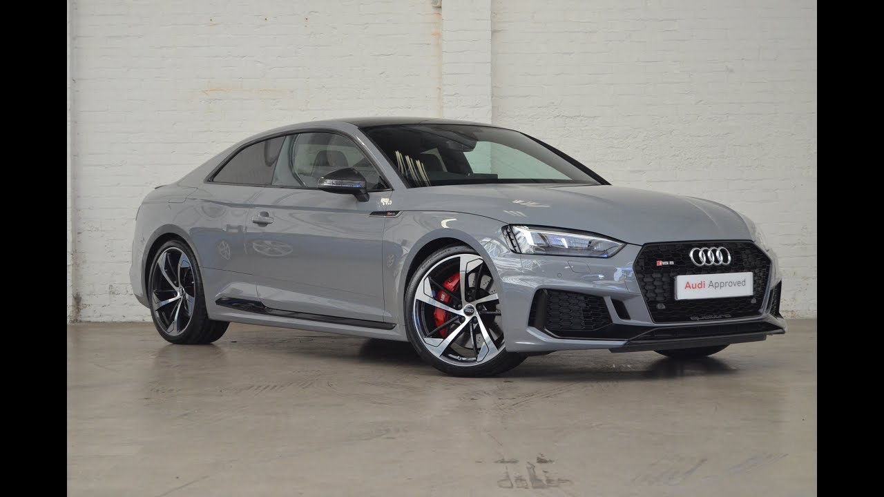 RX67ZBZ AUDI RS5 COUPE NARDO GREY 2017 SLOUGH AUDI - YouTube