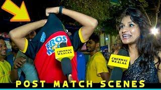 "Bangalore ரசிகர்களை வச்சி செய்த Chennai ரசிகர்கள்""   RCB Fan gets Totally Destroyed by CSK Fans!"