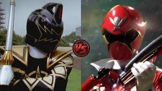 Dino Thunder Black Ranger vs. Super MegaForce Red - Clash of Power Rangers - Who would win?