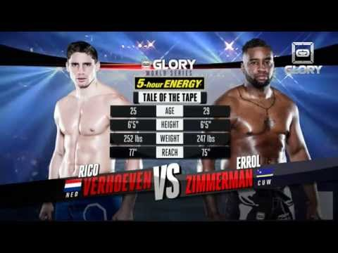 GLORY 19: Rico Verhoeven vs Errol Zimmerman (Full Video)