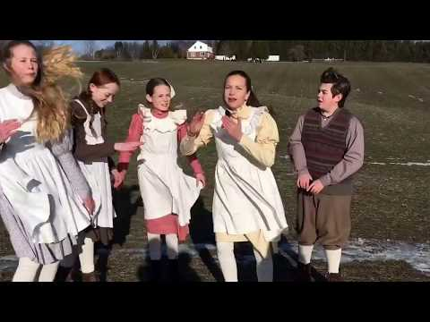 The cast of 'Anne The Series' singing Hamilton