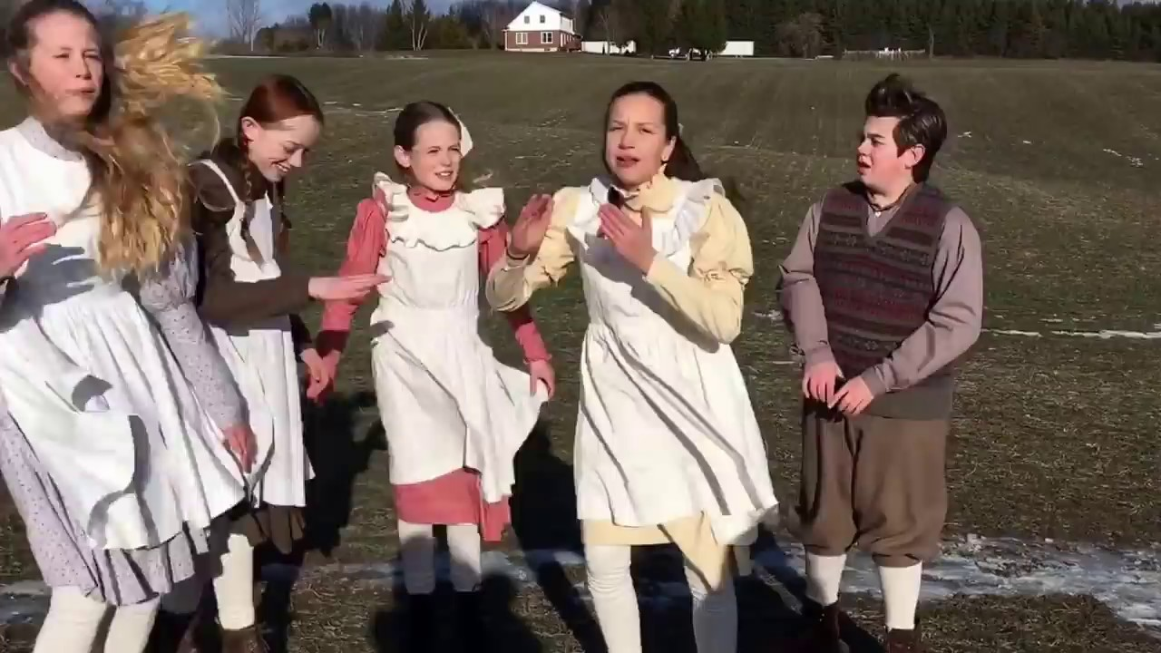 The Cast Of Anne The Series Singing Hamilton Youtube