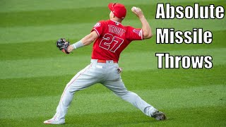 MLB Center Fielders Showing Off Their Arms Compilation Part 3