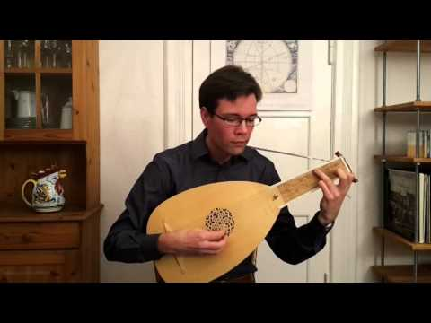 Lute Music: John Dowland  - My Lord Willoughby's Welcome Home - Rennaissance Lute