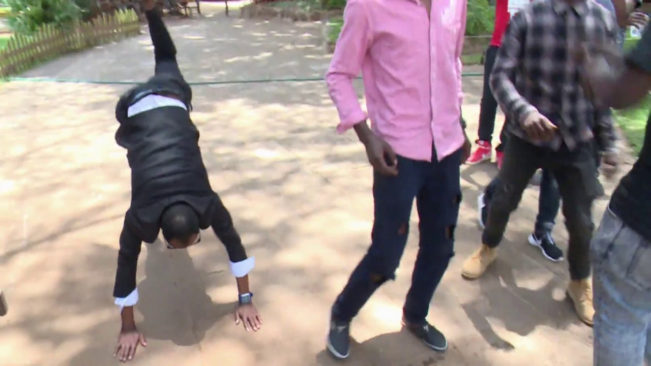 Babu Owino and Jaguar fist fight parody
