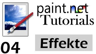 Paint.net Tutorial [German/Deutsch] - Effekte | 4