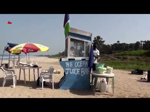 Ocean Juice Bar. Gambia