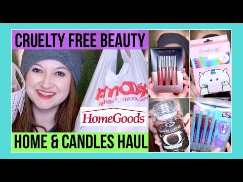 TJ Maxx & HomeGoods HUGE Haul! | Cruelty Free Beauty, Yankee Candle, Home Decor & more! MissGlamBAM