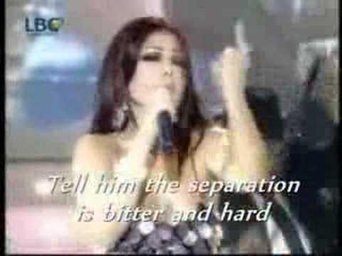 """Haifa Wehbe """"Amar El Wadi"""" (Moon Valley) English subtitles مر الوادي  هيفاء وهبي"""