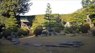 西江寺の庭園