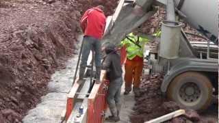 Building a Shed (Part 14) - Pouring Concrete.