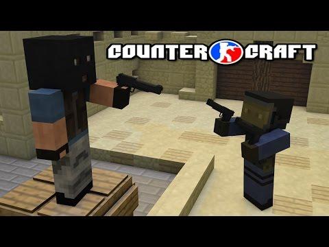 Minecraft Counter Craft ไม่น่าเชื่อนี้มัน CSGO เลยนี้หว่าา