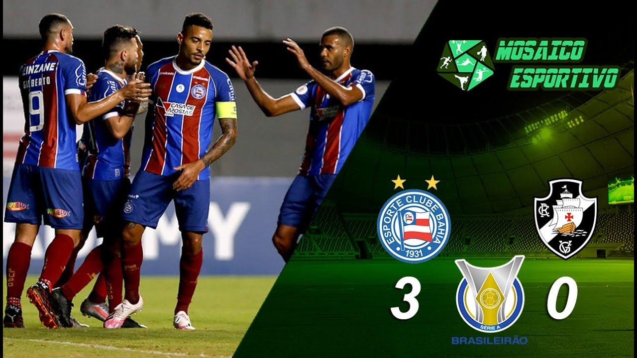 Série A : Bahia quebra jejum em Pituaçu e vence por 3 a 0