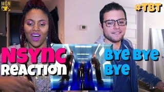 *NSYNC - Bye Bye Bye - #TBT - Reaction